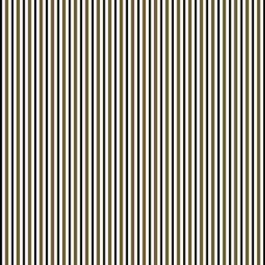 Dark Olive and Black Stripes on White