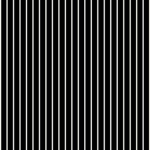 Small White Stripes on Black