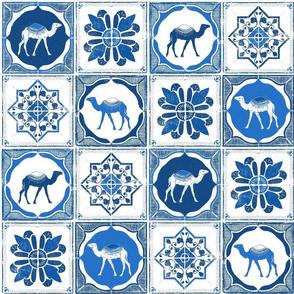 Moroccan Block Print