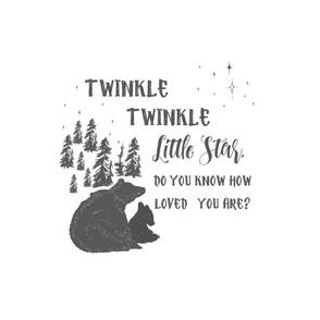 """14.5"""" Twinkle Twinkle Little Star Banner"""