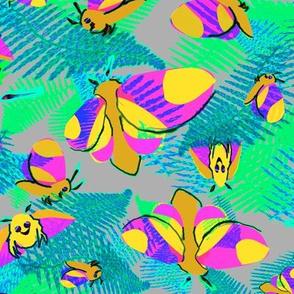 RosieMaple Moths Ferns2 bright nights
