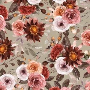 Riverlee Floral Caramel
