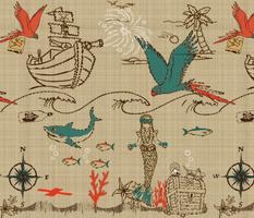 Dreaming of Pirate Treasure & Mermaids
