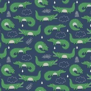 cute alligators // smaller scale