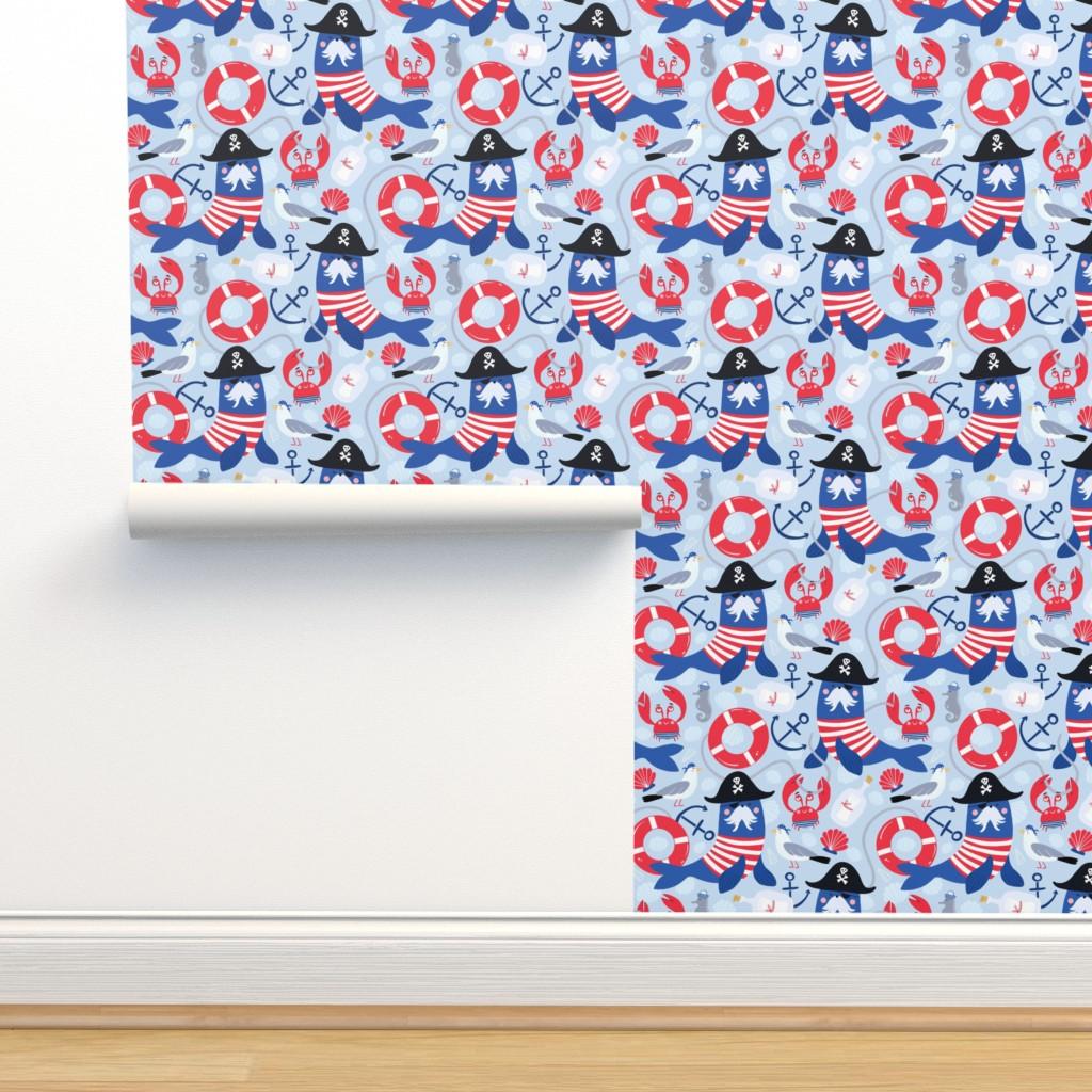 Isobar Durable Wallpaper featuring Pirates ahoy! by hala_kobrynska