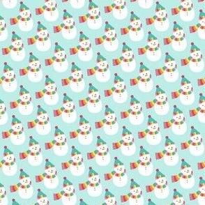 snowmen :: colorful christmas XSM