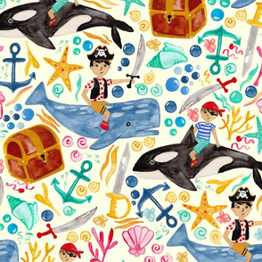 Underwater Pirates
