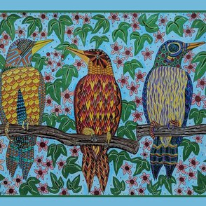 three birds ttowel