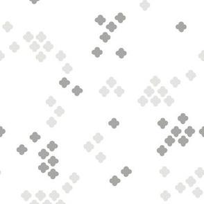 Gray Cross Shapes