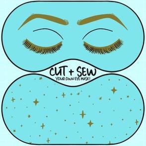 Cut & Sew Eye mask - Holly Golightly