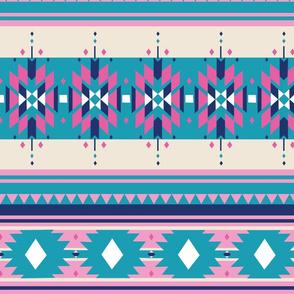 Indian Tribal Pastel