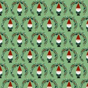 Christmas Gnome - Green