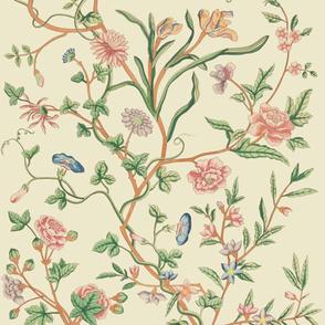 Tree of Life Chintz Reproduction ~ Original