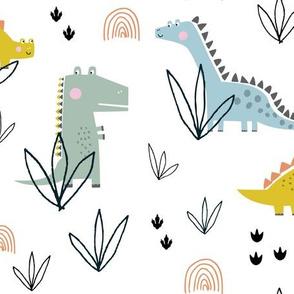 Dinosaur t-rex fossil stegosaurus kids