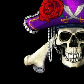 Pirate Skull Large Full Color