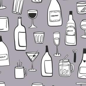 Celebration Drinks Gray