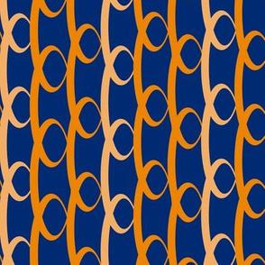 Orange hoops chain
