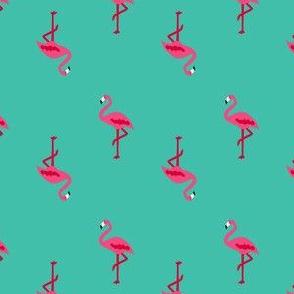 FS Flamingo Party Print