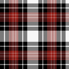 Buffalo Tartan Plaid | Red & Black | Renee Davis