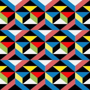 Mondrian Inspired Pattern 2