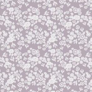 TINY - bee garden  // linocut fabric, interiors fabric, soft neutral fabric, neutral fabric, warm tones fabric