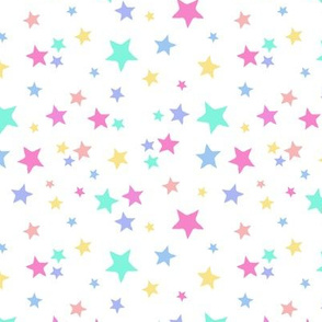Colorful Star Toss
