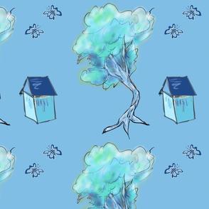 Happy Tree Blue