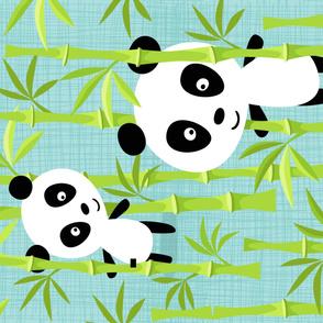 Panda Minky no2