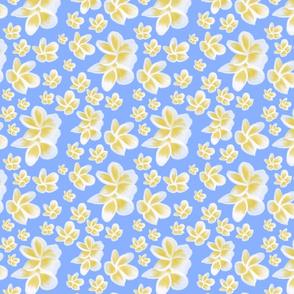 Perfect Plumeria-blue