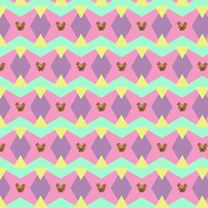 Color Blocks with Trinkette!