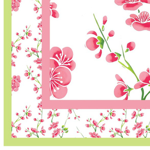 Cherry Blossom 1 Yard Quilt