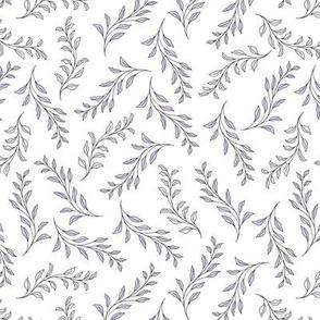 Flowing Leaves - mauve