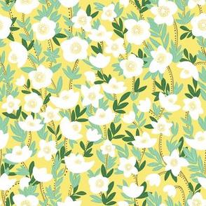 Lemonade Wildflowers in Yellow