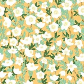 lemonade wildflowers in orange