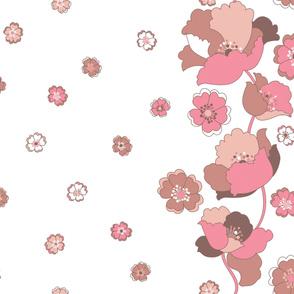 Kitchenette Flowers LG - Nudist