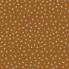 Stars on Brown