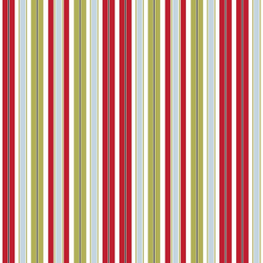 Red and Green Stripe