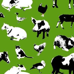Farm Animals (Green)
