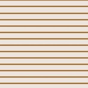 Autumn carmel stripe 7x7