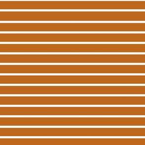 Pumpkin Stripe 7x7