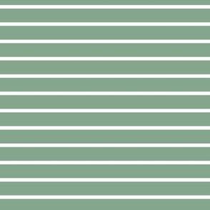 Sage Stripe 7x7