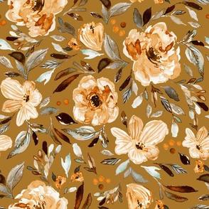 Sweet pea garden Golden 9x9