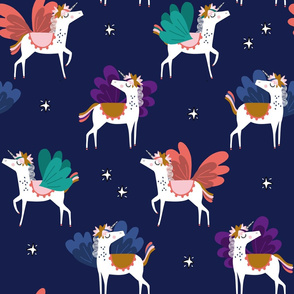 Unicorn whimsical kids