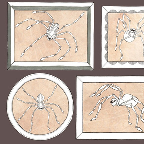 halloween embroidery spider frames