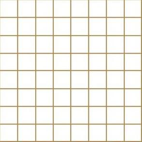 rust grid on white