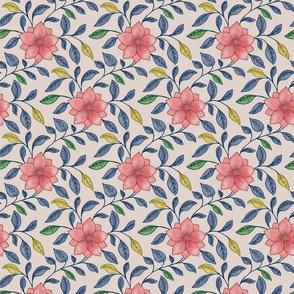 chinese flower pattern