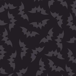 Bats on Charcoal
