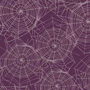Webs on Purple