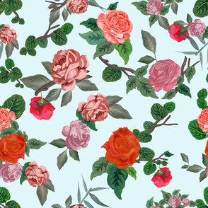 Gulsen Gunel-Hand drawn artistic roses