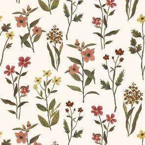 Fall Wildflower Linen